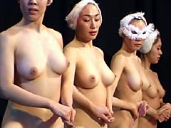【エロ動画】全裸バレエ - エロ動画!企画もの
