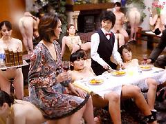 【エロ動画】人間家具のエロ画像