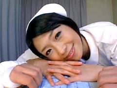 【エロ動画】芸能人 範田紗々 手コキ×性交クリニックのエロ画像