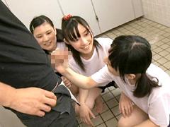 トイレの●●生が大人ち○ぽに出逢ったら
