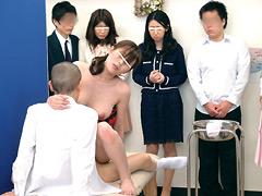 【エロ動画】中出し母子性交セミナーのエロ画像