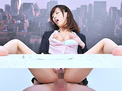【エロ動画】「常に性交」生本番ニュースショーのエロ画像
