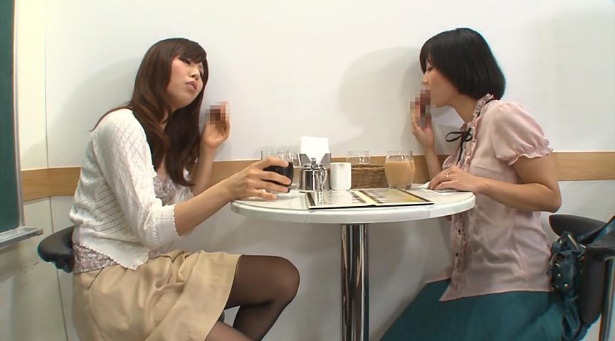 壁!机!椅子!から飛び出る生チ○ポが人気のお店 『喫茶しゃぶりながら』…さらにハメながら の画像1