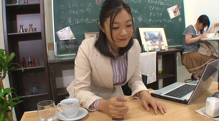 壁!机!椅子!から飛び出る生チ○ポが人気のお店 『喫茶しゃぶりながら』…さらにハメながら の画像11