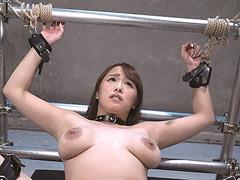【エロ動画】絶対服従 人体固定ハードFUCK 白石茉莉奈 - 極上SM動画エロス