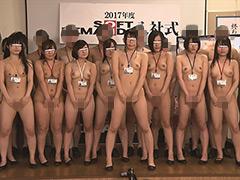 【エロ動画】2017年度ソフト・オン・デマンド入社式のエロ画像