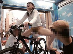 マジックミラー号×アクメ自転車 ママチャリ人妻限定!