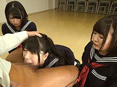 真・喉奥奴隷生徒会:女子校生