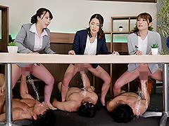 【エロ動画】トビジオっ!NEWS 本番中、ずっと潮吹きっぱなし・失禁