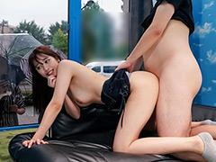 【エロ動画】三田杏×マジックミラー号 ミラー越し超恥ずかしいSEXのエロ画像