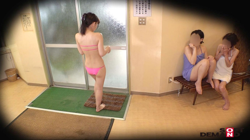 裸よりも恥ずかしいハレンチ水着で混浴入ってみませんか