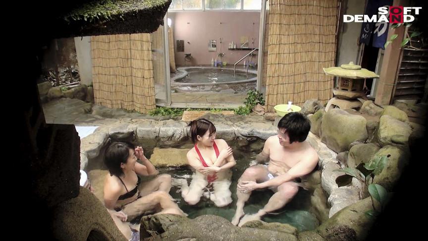 「寝取られ願望」のある夫が妻をダマして混浴放置!