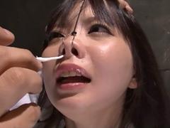 鬼こより鼻腔責め烈伝☆鼻水、涎、大号泣で見せます