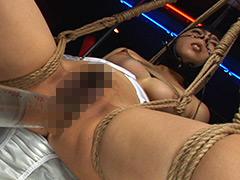 【エロ動画】鼻フックされながら浣腸のエロ画像