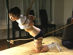 【エロ動画】制服着衣緊縛調教4のエロ画像