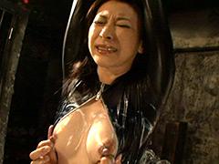 キャットスーツを着た牝奴隷4