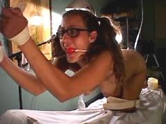 【エロ動画】拉致された生き人形14のSM凌辱エロ画像