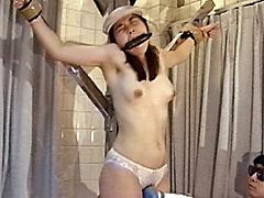 女スパイ拷問 電気マッサージの刑8