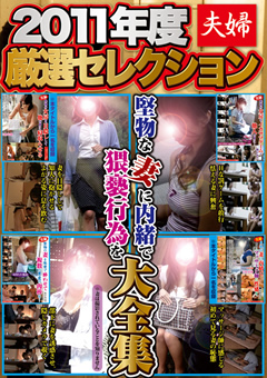 2011年度 夫婦厳選セレクション 堅物な妻に内緒で猥褻行為を大全集