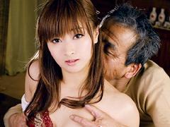 【エロ動画】義父の嫁虐り 加瀬あゆむの人妻・熟女エロ画像