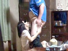 【エロ動画】甥っ子の叔母寝取り計画 前編 貞淑な叔母を…のエロ画像