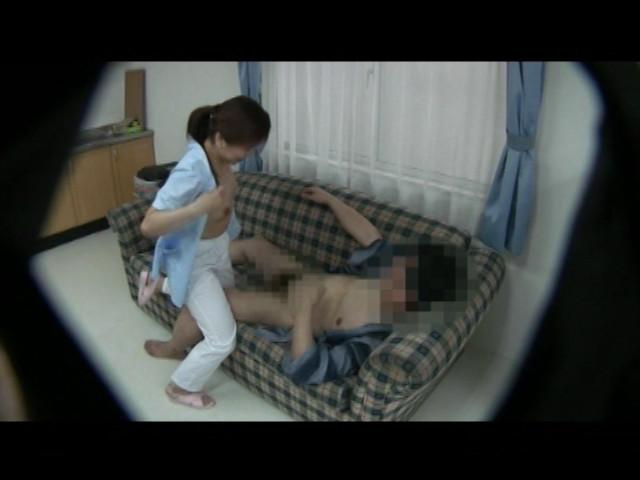 老人介護施設流出 ヘルパーを痴漢しまくるスケベ爺様 の画像9