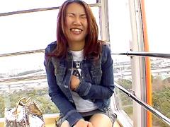 【エロ動画】街角素人娘初めてのリモコンバイブ Vol.7のエロ画像