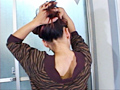 揺れる髪&うなじ 5
