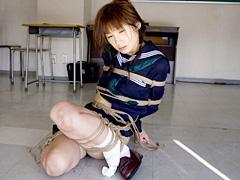 【エロ動画】杉浦則夫緊縛桟敷 秋名優子のエロ画像