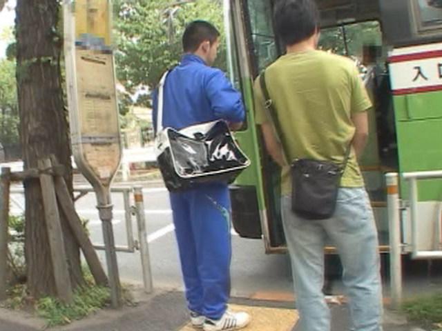 ノンケ痴漢バス Vol.3 部活帰りの柔道少年編