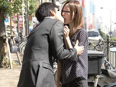 【エロ動画】街角ガールズ「あなたのキス顔を見せて下さい」6のエロ画像