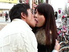 【エロ動画】街角ガールズ「あなたのキス顔を見せて下さい」3のエロ画像