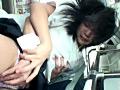 田舎通学バスで女子学生のポッチン乳首にイタズラ痴漢 7