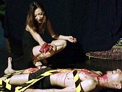 【エロ動画】青薔薇惨劇館 第二話 盲目のピアニスト紅葉のエロ画像