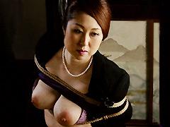 【エロ動画】未亡人・身代り奴隷 高原沙恵のエロ画像