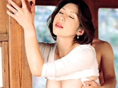 【エロ動画】近親相姦 恥ずかしながら新人母のエロ画像