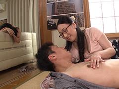 【エロ動画】妻の目を盗み妻友と 若菜あゆみのエロ画像