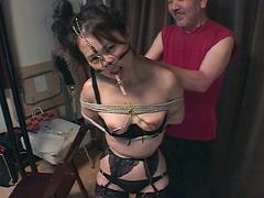 【エロ動画】華咲けるマゾ熟女 華凛尚のSM凌辱エロ画像