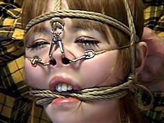 鼻縛崩乱 美しすぎる鼻責めM女 黒田麻世