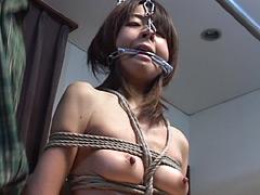 【エロ動画】和装緊縛鼻責め之契のエロ画像