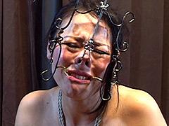 絶望の淵 ~顔枷鼻責め 強制排泄浣腸調教
