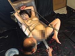 【エロ動画】艶女悦虐 顔枷浣腸のエロ画像