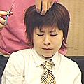 あいちゃん剃髪初体験