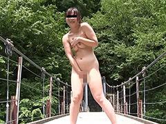 野外全裸 綾香 22歳