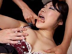 【エロ動画】義母催淫 息子が弄ぶ貞淑母の柔肌のエロ画像
