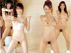 【エロ動画】全裸BOOT CAMPのエロ画像