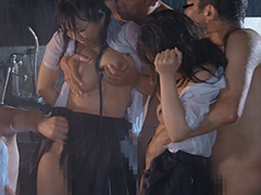 稲場るか|びしょ濡れ女子○生雨宿り強制わいせつ5