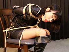 【エロ動画】熟女緊縛 罠に堕ちた保険外交員ユリアのSM凌辱エロ画像
