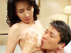 【エロ動画】入婿エレジー 僕に股がる義理の母のエロ画像