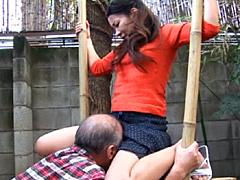 【エロ動画】突撃 すけべぇ義父のとなりの嫁いぢり2のエロ画像